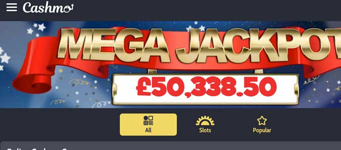 Cashmo Casino Brand New Casino From 2019 In The Uk Claim Bonus